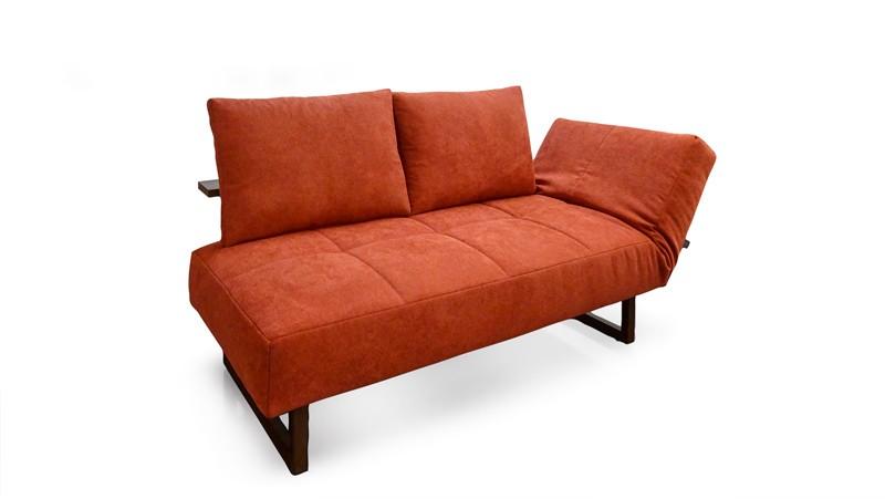 Amy Am3200 5663 Bloq Scarlet Einzelliege Sofa Franz Fertig