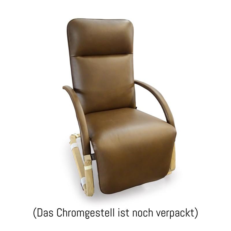 Fino 295100 6169 Nappaleder Chocolate Relaxsessel Franz Fertig