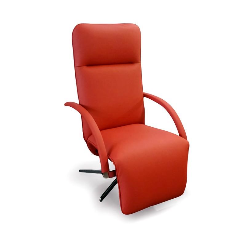 Fino-295170-0018-Nappaleder-rot-Relaxsessel-Designersessel-Franz-Fertig