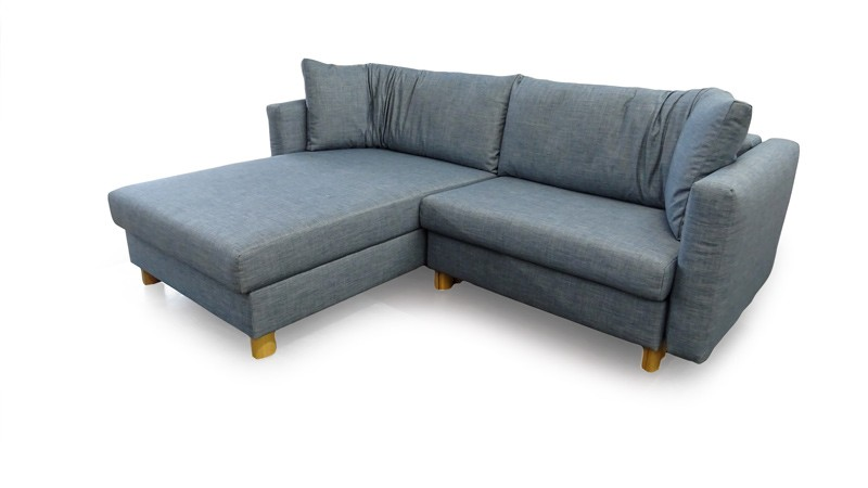 Malouset M8 2241 Blau Big Sofa Eckgruppe Franz Fertig