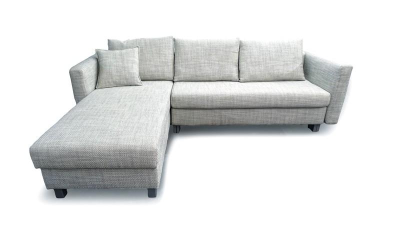 Malouset M8 4166 Silvergrey Big Sofa Eckgruppe Franz Fertig