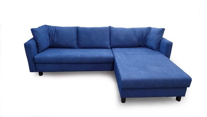 Malouset M85700 4571 Blue Big Sofa Eckgruppe Franz Fertig