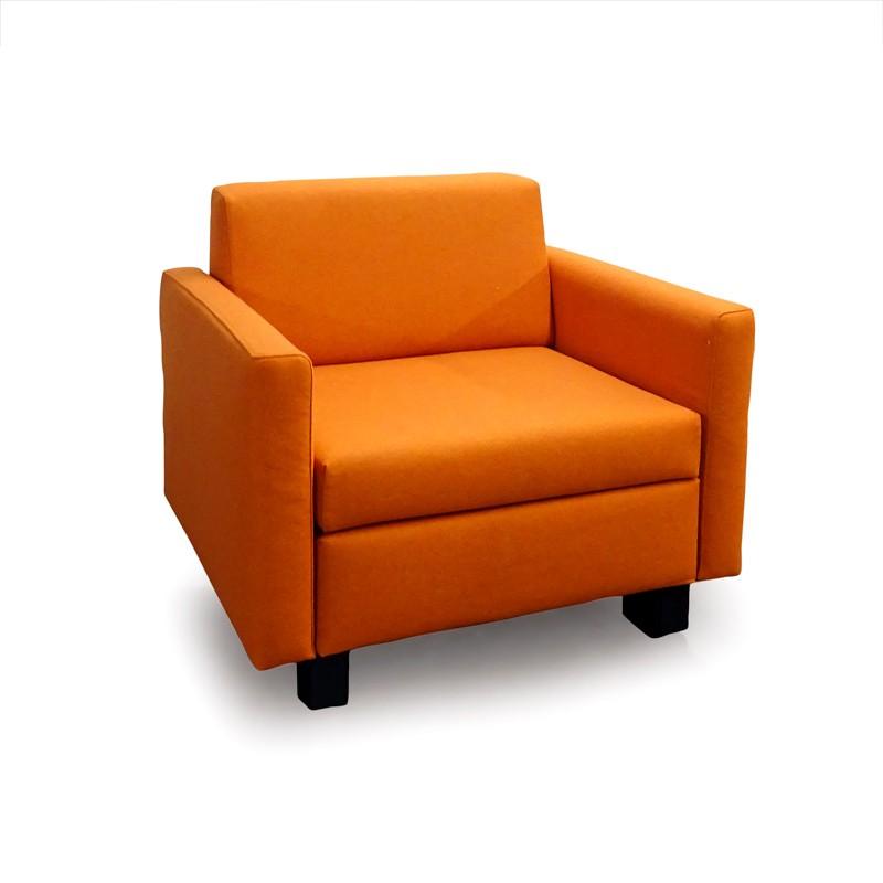 Minnie-WD1780-4277-Wollstoff-orange-Sessel-Franz-Fertig